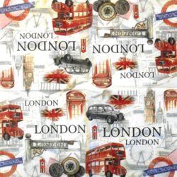Szalvéta - Londoni városnézés