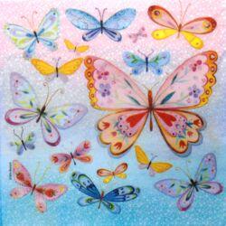 Szalvéta - Pillangó