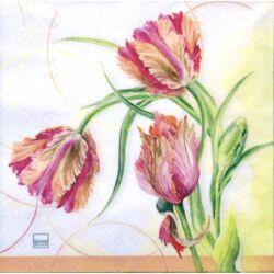 Szalvéta - Tulipán