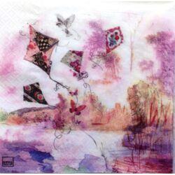 Szalvéta - Absztrakt papírsárkány