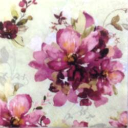 Szalvéta - Ofélia virágcsokor
