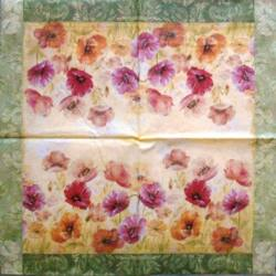 Szalvéta - Virág