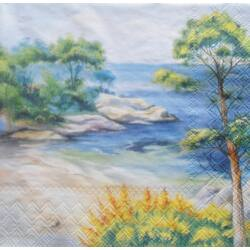 Szalvéta - Földközi-tenger