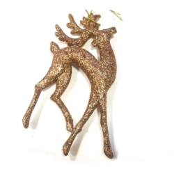 Glitteres szarvas, bronz