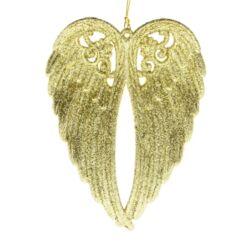 Glitteres angyalszárny, arany