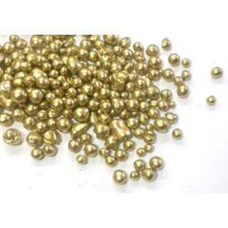 Metál golyócskák arany