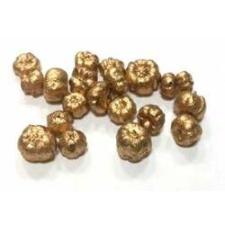 Liliputi tök, metál arany
