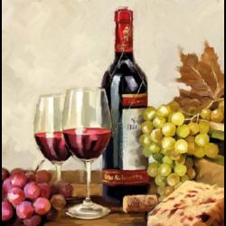 Szalvéta - Bor és szőlő