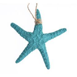 Tengeri csillag, türkizkék 13cm