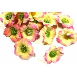 Apró fejvirág darabra - Krém-rózsaszín