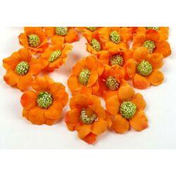Virágfej darabra - Narancs