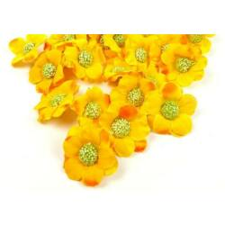 Virágfej darabra - Napsárga