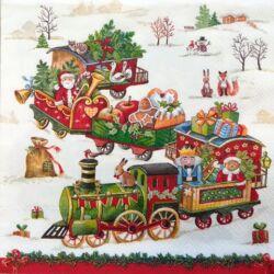 Szalvéta - Karácsonyi vonat