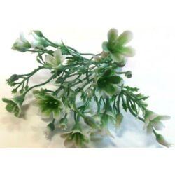Mini apró virág csokor fehér, 14cm