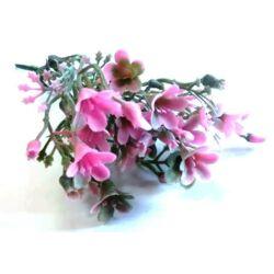 Mini apró virág csokor pink, 14cm