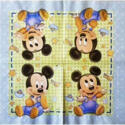 szalvéta - Mickey egér baby