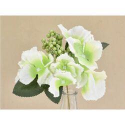 Hortenzia betűző fehér-zöld