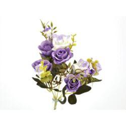 5 ágú rózsabimbó csokor lila
