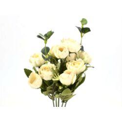 Angol rózsa csokor krém