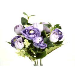 Angol rózsa csokor lila