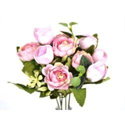 Angol rózsa csokor rózsaszín