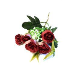 Rózsa ág betűző, bordó