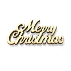Merry Christmas felirat 10cm