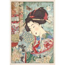 Rizspapír A4 - Geisha