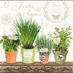 Koktél szalvéta - Fűszernövények