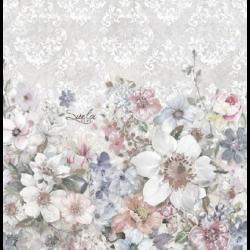Szalvéta - Virág minta, vintage stílus