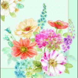 Szalvéta - Virágcsokor