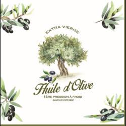 Szalvéta - Provence, oliva