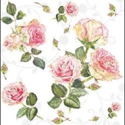Koktél szalvéta - Rózsa