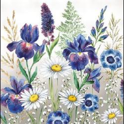 Koktél szalvéta - Virágok