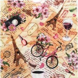 Szalvéta - Párizsi emlék montázs