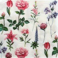 Szalvéta -Virágszálak