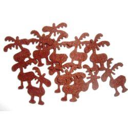 Karácsonyi filc rénszarvasok