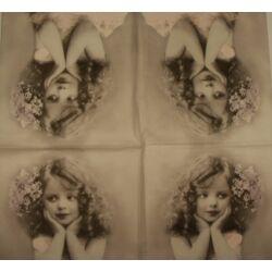 Szalvéta -vintage angyal