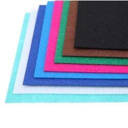Filc anyag  A4 színenként