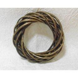 Vessző koszorú  barna 20 cm