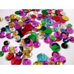 Flitter színenként - kerek - 6 gramm