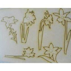 Kreatív Karton virágszálak