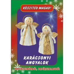 Csináld magad papírcsomag: Karácsonyi angyalok