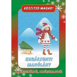 Csináld magad papírcsomag: Karácsonyi manólány