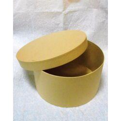 Papírmasé kalapdoboz szett 3 db-os