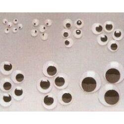 Mozgó szemek 12 mm 10 db