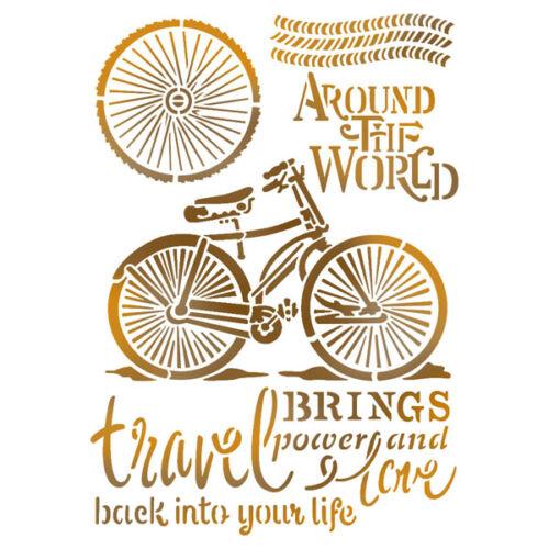 0056cb8462 Sablon 21x29,7 cm - Bicikli - 21x29,7 cm - Kreativ Hobby Dekor