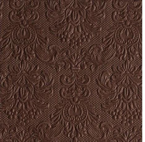 d19ff57d60 Ambiente esküvői szalvéta - barna 40x40 cm - 15db - BARNA - Kreativ Hobby  Dekor