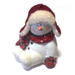 Hóember bundasapis, 13cm