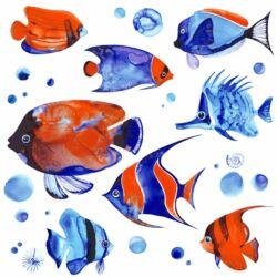 Szalvéta - Trópusi halak